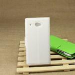 Peněženkové pouzdro pro HTC Desire 601- bílé - 2/7