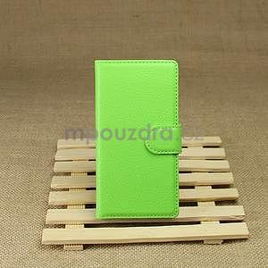 Peněženkové pouzdro pro HTC Desire 601- zelené - 2