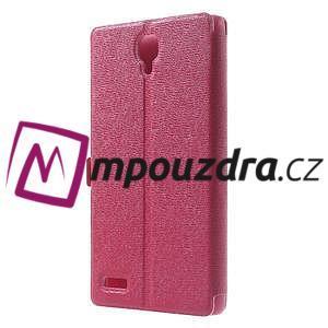 Peněženkové pouzdro na Xiaomi Hongmi Note- růžové - 2
