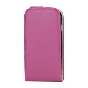 Flipové pouzdro pro Samsung Galaxy S3 mini i8190- růžové - 2