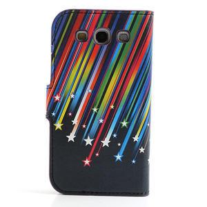 Peněženkové pouzdro na Samsung Galaxy S3 i9300- meteor - 2