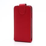 Flipové pouzdro pro Samsung Galaxy S4 i9500- červené - 2/5
