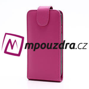 Flipové pouzdro pro Samsung Galaxy S4 i9500- růžové - 2