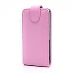 Flipové pouzdro pro Samsung Galaxy S4 i9500- světle-růžové - 2/5