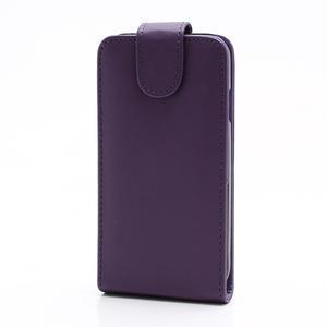 Flipové pouzdro pro Samsung Galaxy S4 i9500-fialové - 2