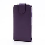 Flipové pouzdro pro Samsung Galaxy S4 i9500-fialové - 2/5
