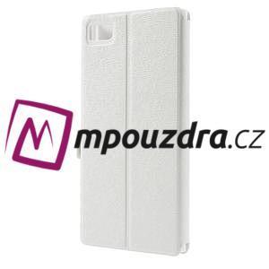 Peněženkové pouzdro na Xiaomi Mi3- bílé - 2