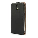 Flipové PU kožené pouzdro na Samsung Galaxy Note 3- černé - 2/7