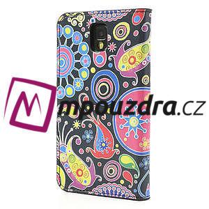 Peněženkové pouzdro na Samsung Galaxy Note 3- vzory - 2