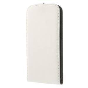 Flipové pouzdro pro HTC one M8- bílé - 2