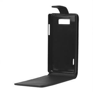 Flipové pouzdro na LG Optimus L7 P700 - černé - 2