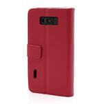 Peněženkové pouzdro na LG Optimus L7 P700 - červené - 2/7
