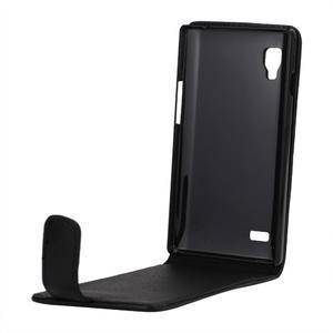 Flipové pouzdro na LG Optimus L9 P760 - černé - 2