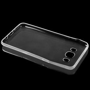 Transparentní ultratenký 0.75 mm gelový obal na Samsung Galaxy J5 (2016) - 2