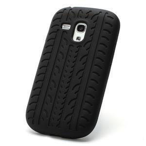 Silikonové PNEU pro Samsung Galaxy S3 mini i8190- černé - 2