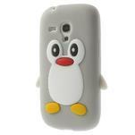 Silikonový TUČŃÁK pouzdro na Samsung Galaxy S3 mini i8190- šedý - 2/7