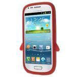 Silikonový TUČŃÁK pouzdro na Samsung Galaxy S3 mini i8190- červený - 2/7