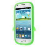 Silikonový TUČŃÁK pouzdro na Samsung Galaxy S3 mini i8190- zelený - 2/7
