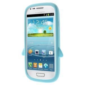 Silikonový TUČŃÁK pouzdro na Samsung Galaxy S3 mini i8190- světlemodrý - 2