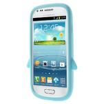 Silikonový TUČŃÁK pouzdro na Samsung Galaxy S3 mini i8190- světlemodrý - 2/7