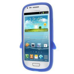 Silikonový TUČŃÁK pouzdro na Samsung Galaxy S3 mini i8190- modrý - 2