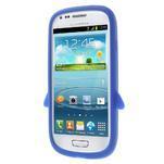 Silikonový TUČŃÁK pouzdro na Samsung Galaxy S3 mini i8190- modrý - 2/7