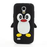 Silikon 3D TUČŇÁK pro Samsung Galaxy S4 mini i9190- černý - 2/5