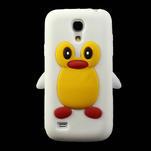 Silikon 3D TUČŇÁK pro Samsung Galaxy S4 mini i9190- bílý - 2/5