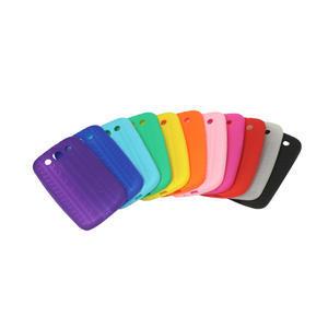 Silikonové PNEU pozdro pro Samsung Galaxy S3 i9300 - oranžové - 2