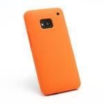Silikonové pouzdro pro HTC one M7- oranžové - 2/3