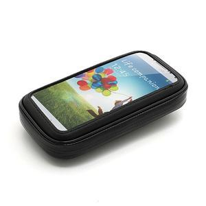 Voděodolný obal na kolo pro mobilní telefony do 14 x 7,5 cm - 2