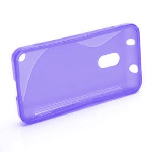 Gelové S-line pouzdro na Nokia Lumia 620- fialové - 2