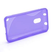 Gelové S-line pouzdro na Nokia Lumia 620- fialové - 2/5