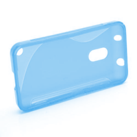 Gelové S-line pouzdro na Nokia Lumia 620- modré - 2/5