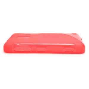 Gelové S-line pouzdro na Nokia Lumia 620- červené - 2
