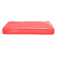 Gelové S-line pouzdro na Nokia Lumia 620- červené - 2/5