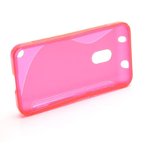 Gelové S-line pouzdro na Nokia Lumia 620- růžové - 2/5