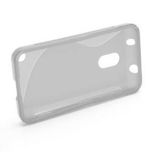 Gelové S-line pouzdro na Nokia Lumia 620- transparentní - 2