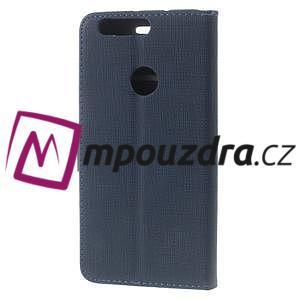 Clothy peněženkové pouzdro na mobil Honor 8 - tmavěmodré - 2