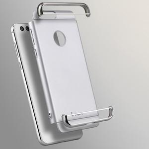 Luxusní odolný obal 3v1 na mobil Honor 8 - stříbrný - 2