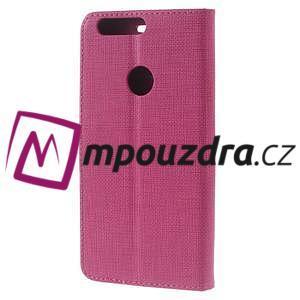 Clothy peněženkové pouzdro na mobil Honor 8 - rose - 2