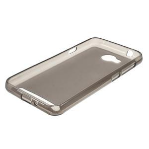 Matný gelový obal na Huawei Y3 II - šedý - 2