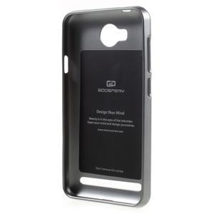 Luxusní gelový obal na mobil Huawei Y3 II - šedá - 2