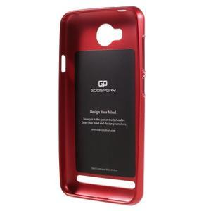 Luxusní gelový obal na mobil Huawei Y3 II - červený - 2