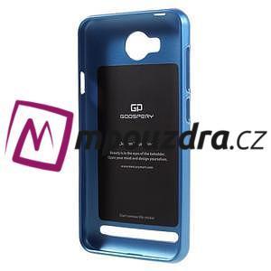 Luxusní gelový obal na mobil Huawei Y3 II - modrý - 2