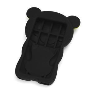 Bear silikonový obal na iPod Nano 7 - černý - 2