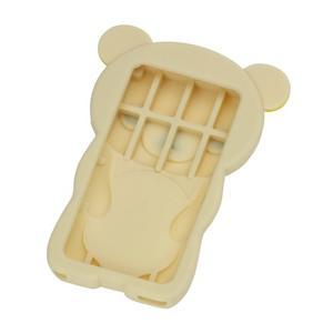 Bear silikonový obal na iPod Nano 7 - béžový - 2