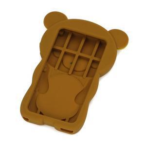 Bear silikonový obal na iPod Nano 7 - hnědý - 2