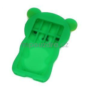 Bear silikonový obal na iPod Nano 7 - zelený - 2