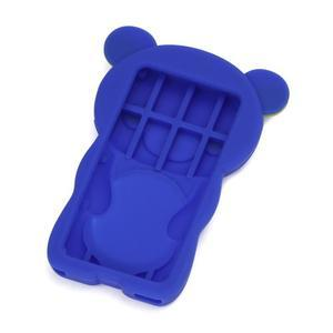 Bear silikonový obal na iPod Nano 7 - modrý - 2